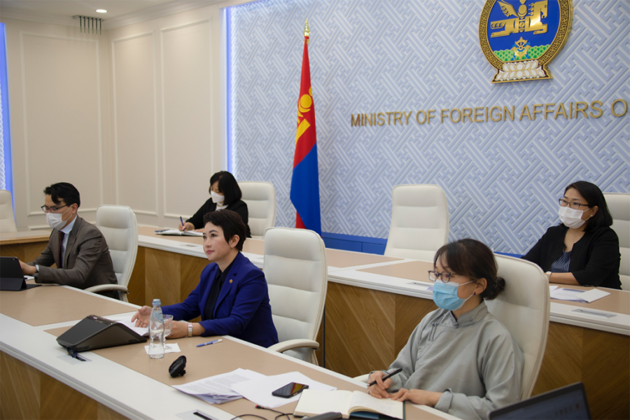 Mongolia's trade policy review takes place